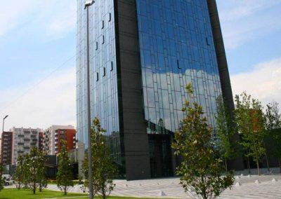 Винпром Пещера офисна сграда, търговски и жилищен комплекс 4