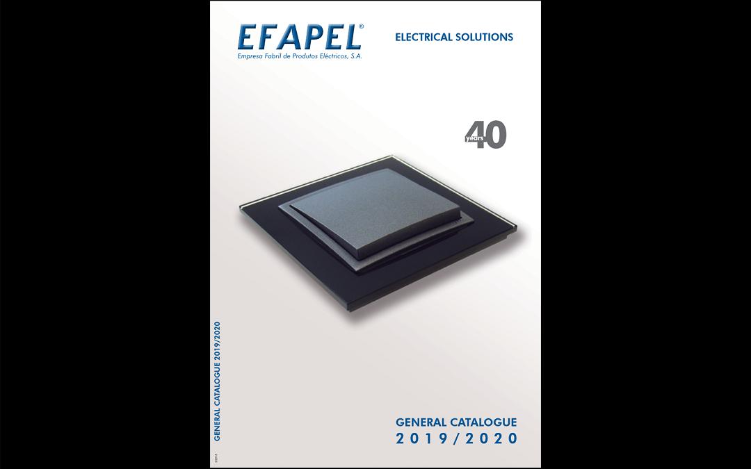Класика и стил в новия каталог 2019-2020 на EFAPEL