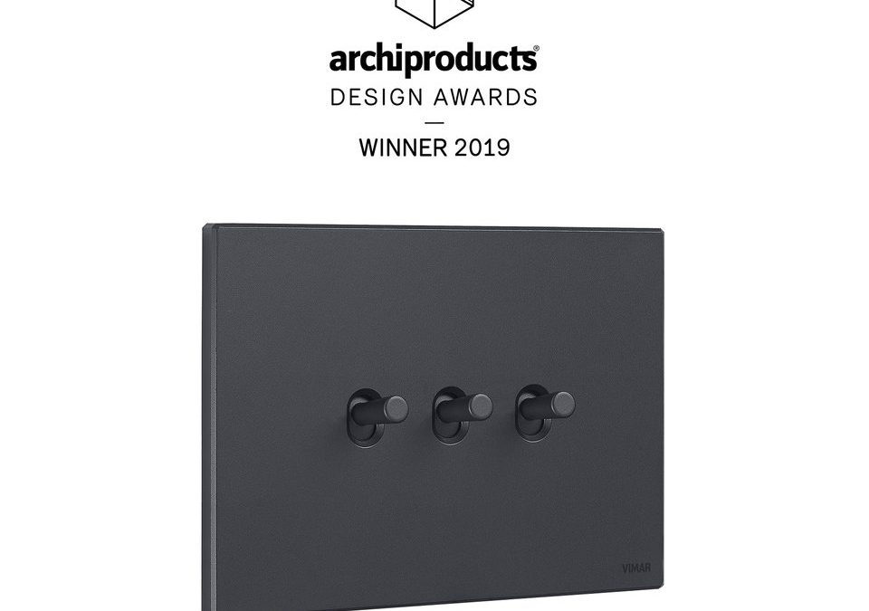 VIMAR с награда на Archiproducts Design Award 2019