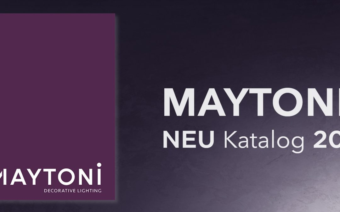 Maytoni с нов каталог