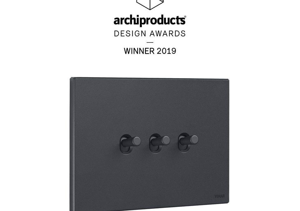 VIMAR с награда на Archiproducts Design Award 2019